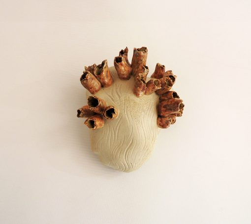 adorno artesania ceramica marino