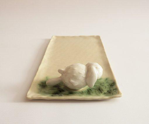 bandeja decorativa ceramica
