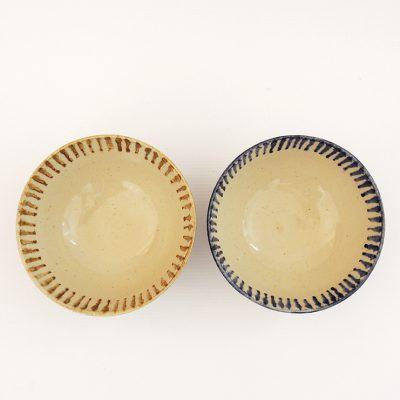 cuenco artesania ceramica rayas
