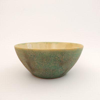 cuenco artesania ceramica turquesa