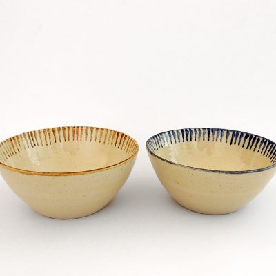 cuenco ceramica rayas