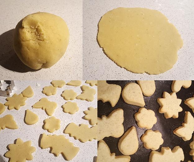 Galletas de vainilla y mantequilla