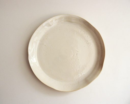 plato llano artesanal