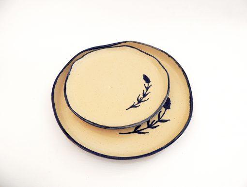 platos artesania ceramica