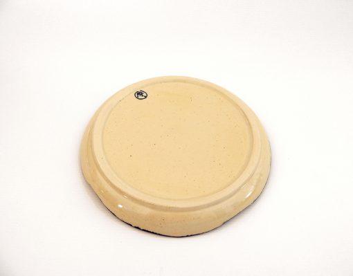 plato postre artesania ceramica