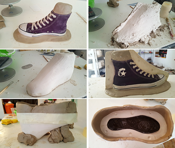 Molde escayola cerámica