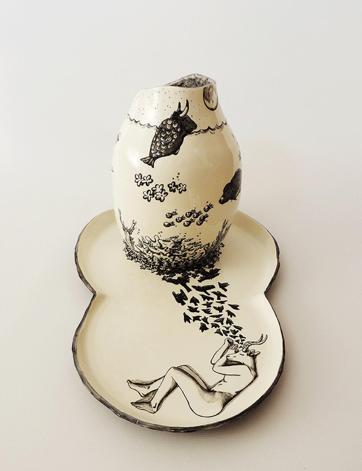 jarron ceramica