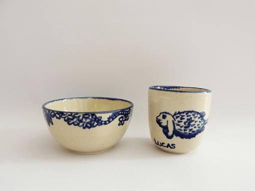juego infantil ceramica
