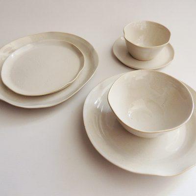 vajilla ceramica artesanal